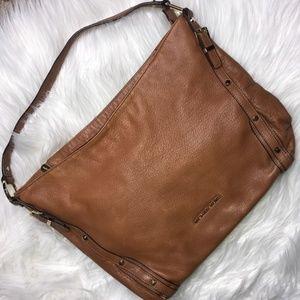 Michael Kors Brown Leather shoulder Purse